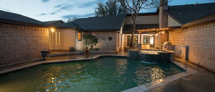 Lake ridge home